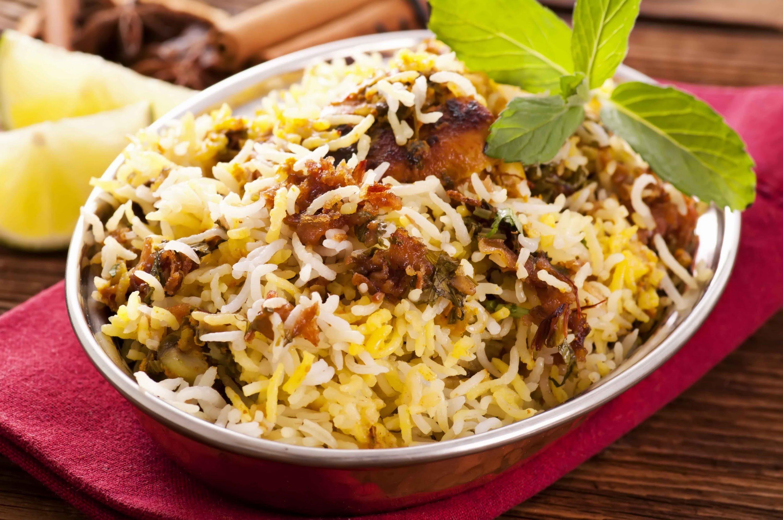 Hyaderabadi Biryani GF (Chicken/Goat/Lamb)