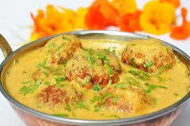 Malai Kofta/Cheese Dumplings Simmered In A Creamy Sauce Recipes ...